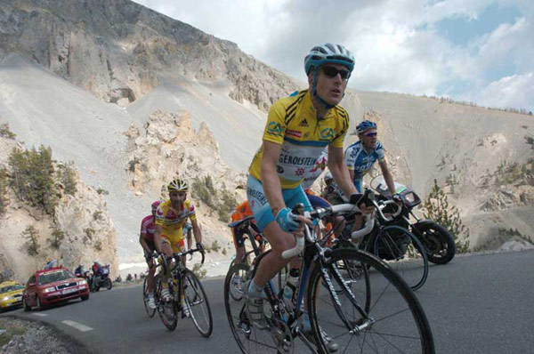 Levi Leipheimer in the 2006 Dauphine