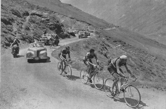 Coppi leads Geminiani and Koblet