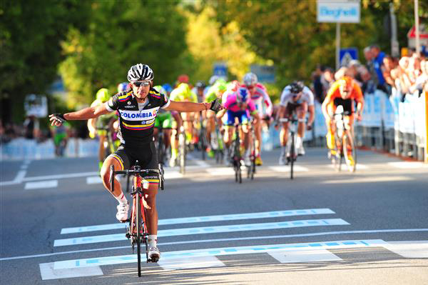 Leonardo Duque wins 2013 GP Beghelli