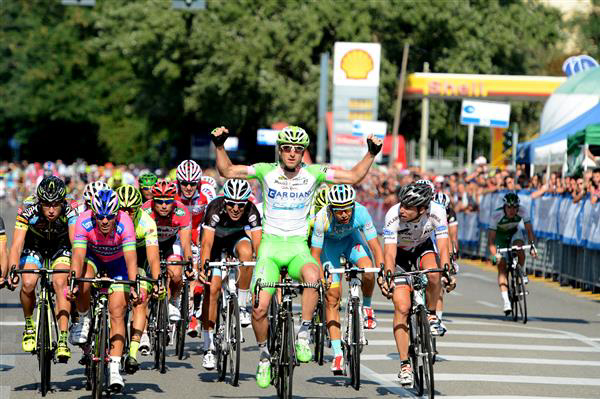 Coppa Bernocchi finish