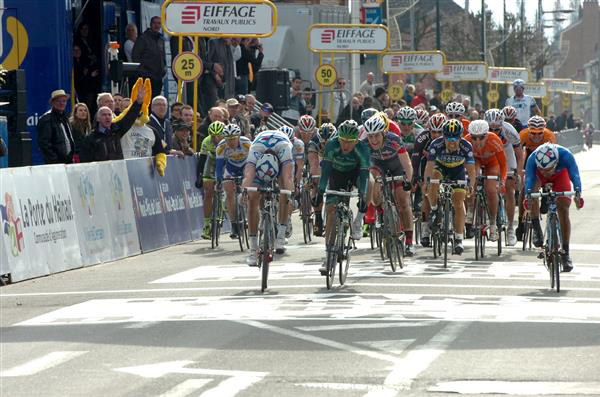 GP Denain finish