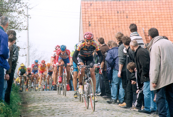 Denis Zanette on the Old Kwaremont