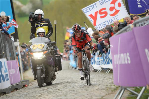 Greg van Avermaet on the Paterberg