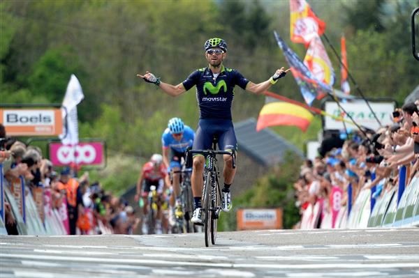Valverde with Fleche Wallone