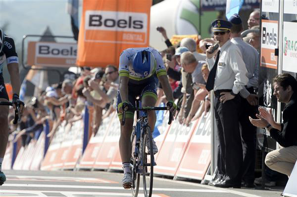 Michael Albasini is third