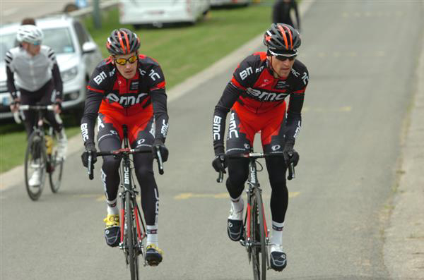 Marcus Berughardt and Greg van Avermaet
