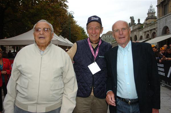 Ercole Baldini, Felice Gimondi and Rudi Altig