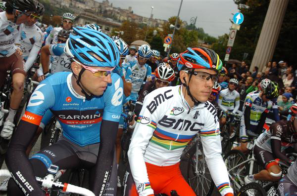 Ryder Hesjedal and Philippe Gilbert