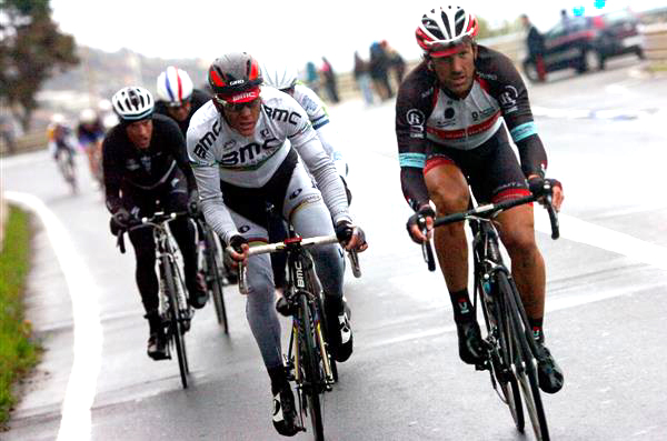 Philippe Gilbert and Fabian Cancellara
