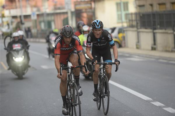 Daniel oss and Geraint Thomas