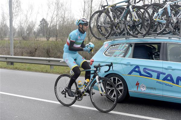 Vincenzo Nibali at the 2015 Milano San Remo