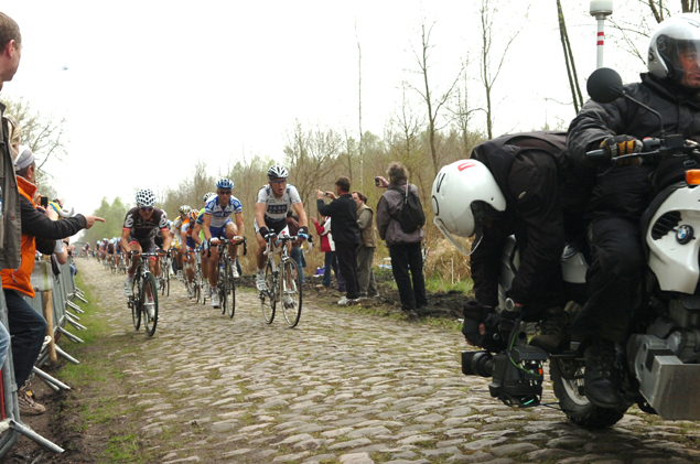Riders in the Arenberg Forest