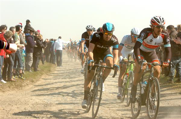 Cancellara and Eisel
