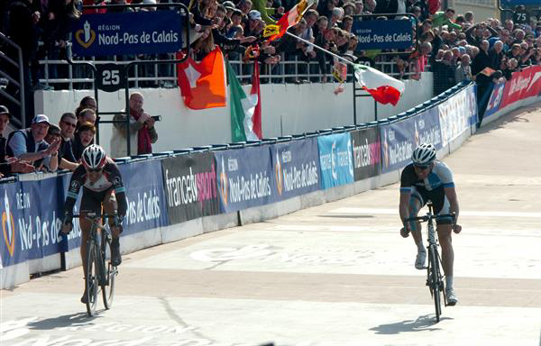 Paris-Roubaix finish