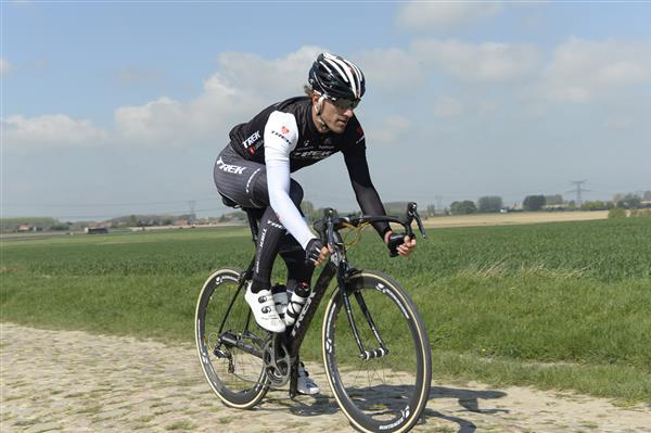 Cancellara on the Orchies sector