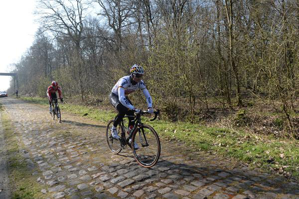 Andre Greipel on the Arenberg