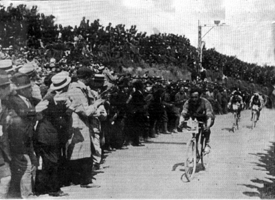 Girardengo wins stage 7