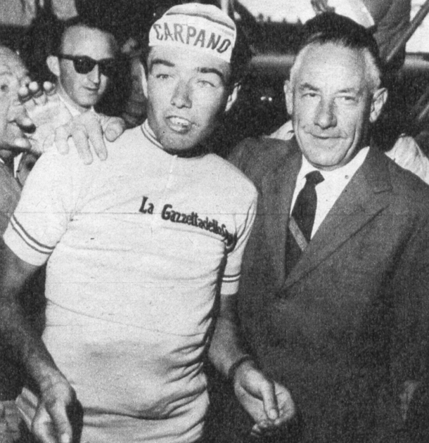 Franco Balmamion and Costante Girardengo