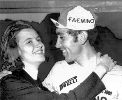 Eddy Merckx and his wife