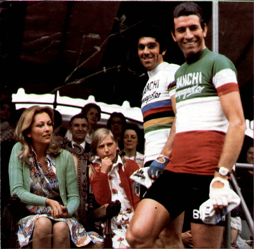 Princess Paolo with Marino Basso and Felice Gimondi