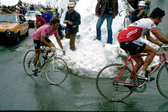 Wladimiro Panizza on the Stelvio