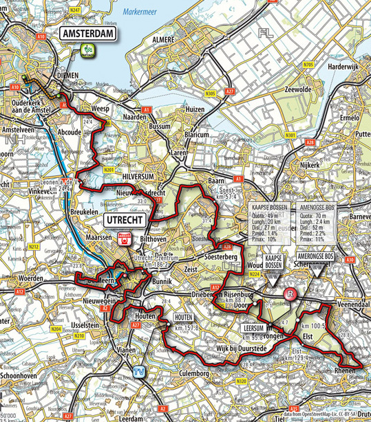 Stage 2 route map