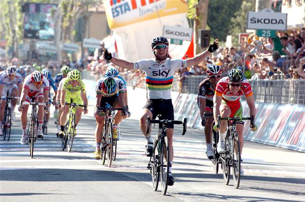 Stage 5 finish