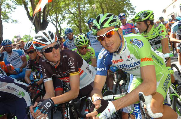Frank Schleck and Ivan Basso