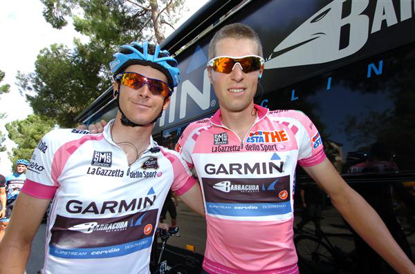 Peter Stetina and Ryder Hesjedal