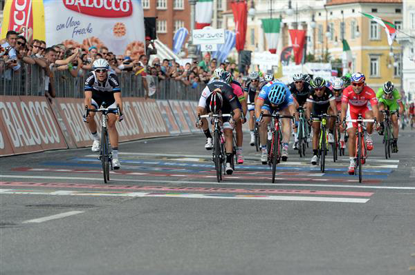 Stage 21 finish