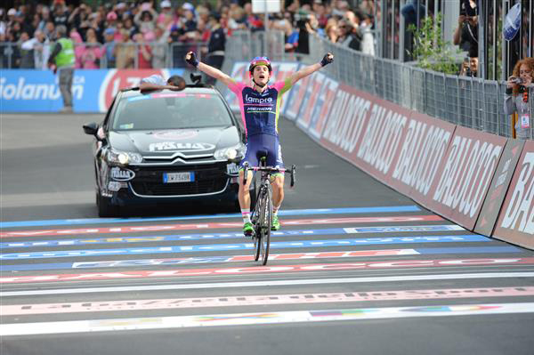 Jan Polanc wins Giro stage 4