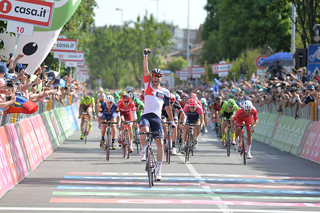 Roger kluge wins Giro stage 17