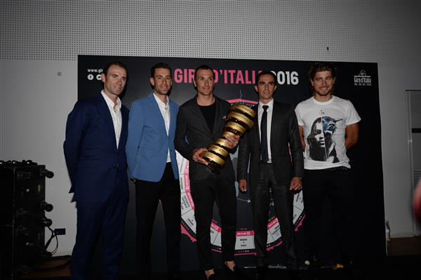 Nibali at 2016 Giro presentation
