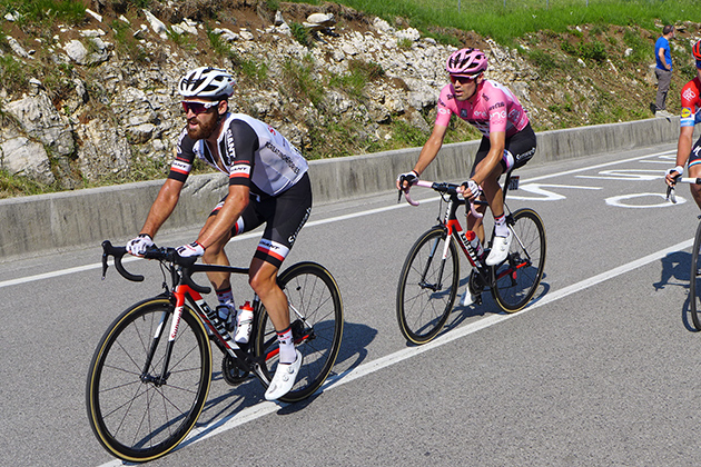 Simon Geschke & Tom Dumoulin
