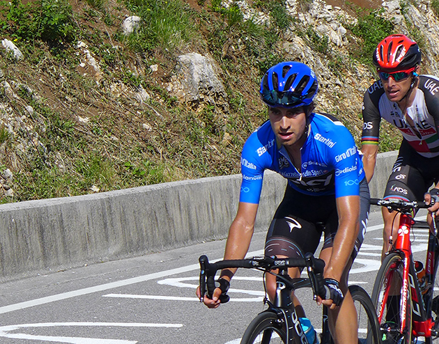 Mikel Landa and Rui Costa