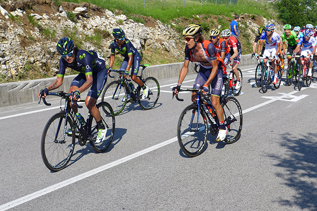 Nibali and Quintana