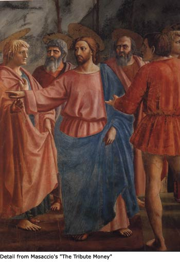 "Masaccio's ""Tribute Money"""