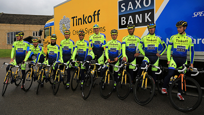 New Saxo-Tinkoff- kit