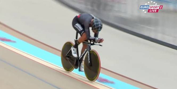 Thomas Dekkers' world hour record attempt