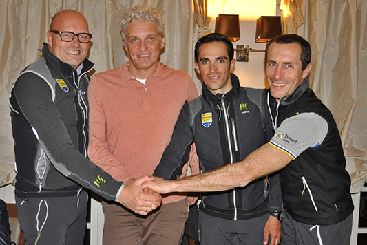Tinkoff at meeting