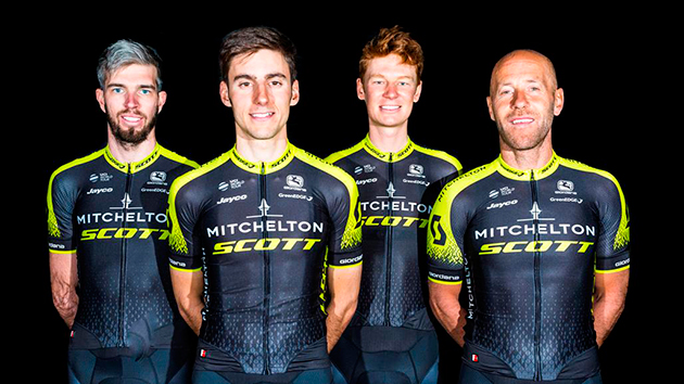 Mitchelton-Scott jersey