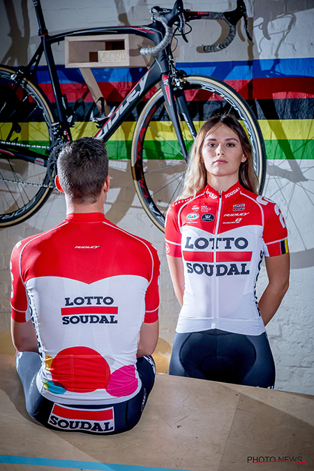 Lotto-Soudal 2018 jersey