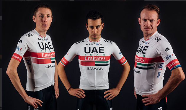 UAE Team Emirates jersey