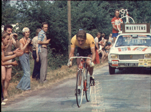Freddy Maertens in the 1976 Tour de France