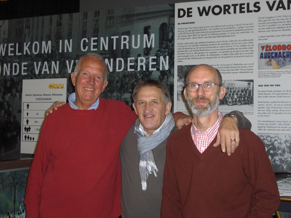 Les Woodland, Freddy MAertens and Bill McGann