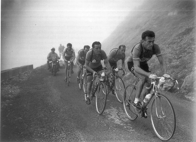 Louison bobet in the 1954 Tour de France