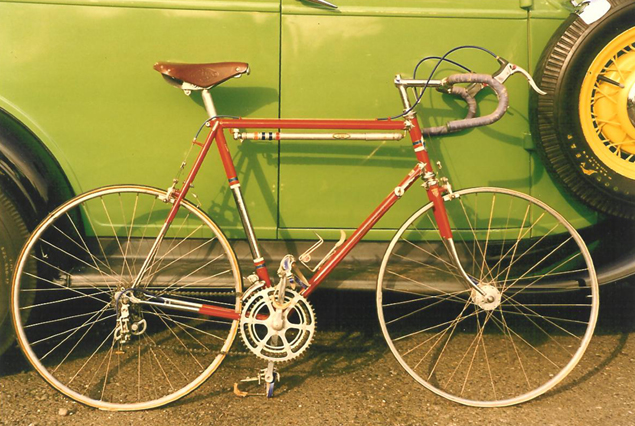 1958 Bertin bike with Huret deraillerus