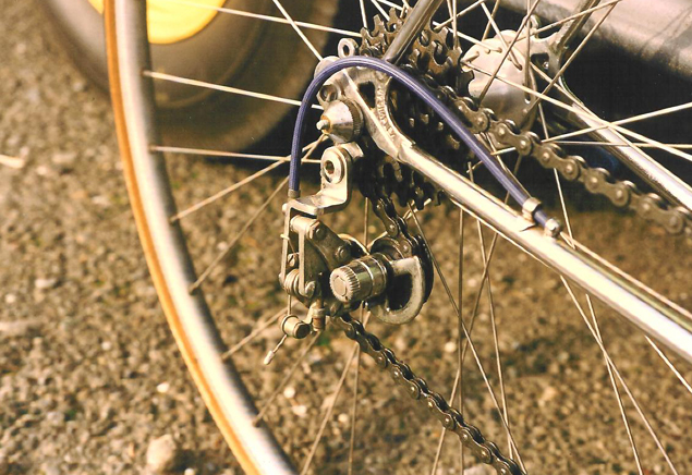 Early Huret Allvit rear derailleur
