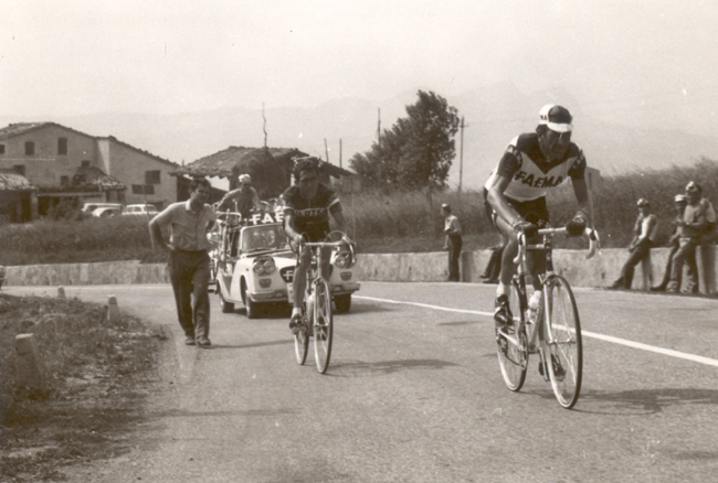 Vittorio Adorni in the 1968 Giro d'Italia