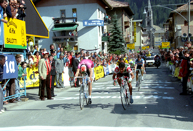 Raul Alacala wins stage 1 of the 1987 Giro del Trentino